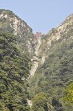 Taishan Mountain in china Royalty Free Stock Image