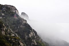 Taishan Mountain in china Royalty Free Stock Photos