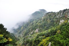 Taishan Mountain in china Stock Image