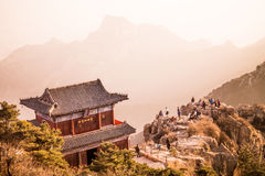 Taishan mountains Royalty Free Stock Photography