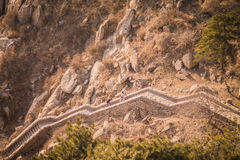 Taishan mountains. In Shandong province, next to Taian city Royalty Free Stock Photos