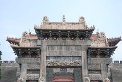 Taishan szenischer Punkt Stockbilder