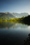 TAISHOIKE Pond and the Peaks of the Hotakas, Nagano Prefecture/J Royalty Free Stock Photos