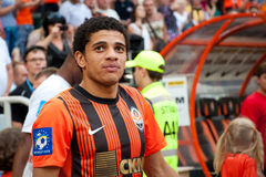 Taison forward of football club Shakhtar Donetsk Royalty Free Stock Images
