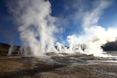 Taito Geysers Royalty Free Stock Image