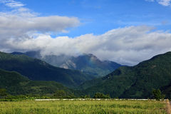 Taitung natur, Taiwan Royaltyfri Bild