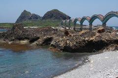 Taitung San Sian Tai. A main travel spot in Tai Tung Stock Images