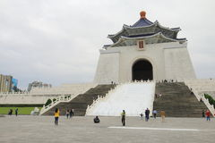 Taiwán: Chiang Kai Shek Memorial Hall nacional Imagenes de archivo