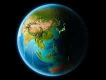 Taiwán por la tarde Imagen de archivo libre de regalías