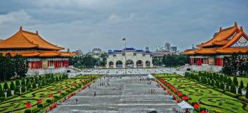 Taiwanï ¼ ŒChiang Kai-shek Memorial Hall fotografering för bildbyråer