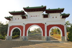 Taiwan: Acht Trigram-Berg Buddha Lizenzfreies Stockbild