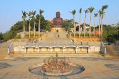 Taiwan: Acht Trigram-Berg Buddha Lizenzfreies Stockfoto