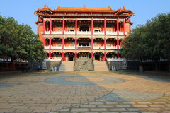 Taiwan: Acht Trigram-Berg Buddha Stockfotos