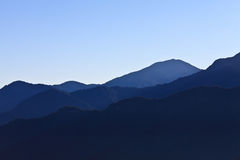 Taiwan - Alishan. Alishan Landscape Scenic Shot, Taiwan Stock Photo