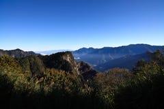 Taiwan - Alishan. Alishan Landscape Scenic Shot, Taiwan Royalty Free Stock Images