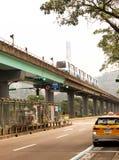 Taiwan - Apr 15, 2017, Editorail use only; Metro bus go to Taipei zoo in taiwan royalty free stock photography