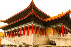 Sun Yat-Sen Memorial Hall The building is famous landmark and must see attraction. Taiwan - Apr 15, 2017, Editorail use only; Sun Yat-Sen Memorial Hall The stock photos