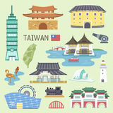 Taiwan attractions Stock Photos