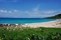Taiwan Beach of Kenting National Park  Royalty Free Stock Images