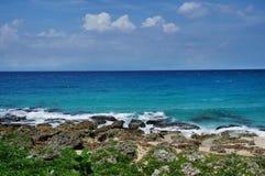 Taiwan Beach of Kenting National Park  Stock Photos