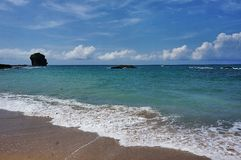 Taiwan Beach of Kenting National Park Stock Images