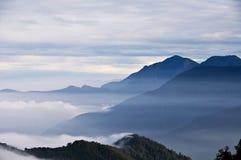 Taiwan beautiful mountains. Taiwan Yushan National Park, mountain views stock image