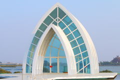 Taiwan : Beimen Crystal Church Royalty Free Stock Photo