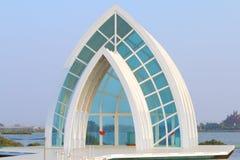 Taiwan : Beimen Crystal Church Royalty Free Stock Photo