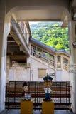 Taiwan, Besichtigungsstellen, Affekatzen-Katzendorf, Bahnstation Lizenzfreie Stockfotografie