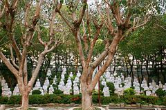 Taiwan Buddha Temple stock image
