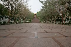 Taiwan Buddhatempel arkivfoton