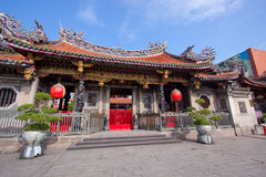 Taiwan Buddhist temple stock images