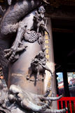 Taiwan Buddhist temple detail royalty free stock images