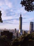 Taiwan Building. Taiwan 101 Building in Xiangchan @Taipei royalty free stock photo