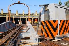 Taiwan : Changhua Railway Roundhouse Stock Image