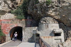 Taiwan : Cihou Fort. Cihou Fort or Cihou Battery is a historic fort in Cijin District, Kaohsiung, Taiwan, formerly guarding northern entrance to Kaohsiung Harbor stock photography