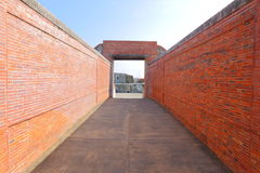 Taiwan : Cihou Fort. Cihou Fort or Cihou Battery is a historic fort in Cijin District, Kaohsiung, Taiwan, formerly guarding northern entrance to Kaohsiung Harbor royalty free stock photo