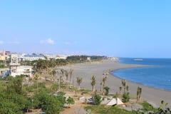 Taiwan : Cijin Beach Stock Image