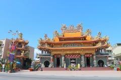 Taiwan : Cijin Tian Sheng Temple Royalty Free Stock Photo