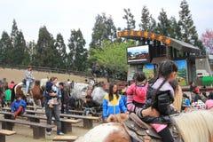 Taiwan Cingjing Farm view Stock Photography