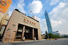 Taiwan Cityscape Royaltyfria Foton