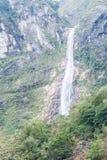 TAIWAN - 18 de janeiro de 2016: Parque nacional de Taroko uma paisagem famosa em Hualien, Taiwan Imagens de Stock Royalty Free