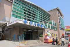Taiwan: Douliu station Arkivbild