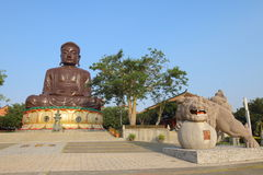 Taiwan : Eight Trigram Mountain Buddha Stock Photo