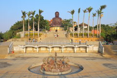 Taiwan : Eight Trigram Mountain Buddha Royalty Free Stock Photo