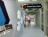 Taiwan Excellence Room at museum in Taipei, Taiwan Royalty Free Stock Photos
