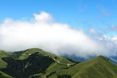 Taiwan Famous Landscape :Hehuan Mountain In Taroko Stock Image