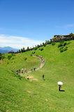 Taiwan famous scenic spot in high mountaion Royalty Free Stock Image