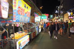 Taiwan : Feng Chia Night Market. Feng Chia Night Market is a night market in Xitun District, Taichung, Taiwan. The market is located next to Feng Chia University royalty free stock photography