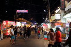 Taiwan : Feng Chia Night Market. Feng Chia Night Market is a night market in Xitun District, Taichung, Taiwan. The market is located next to Feng Chia University stock images